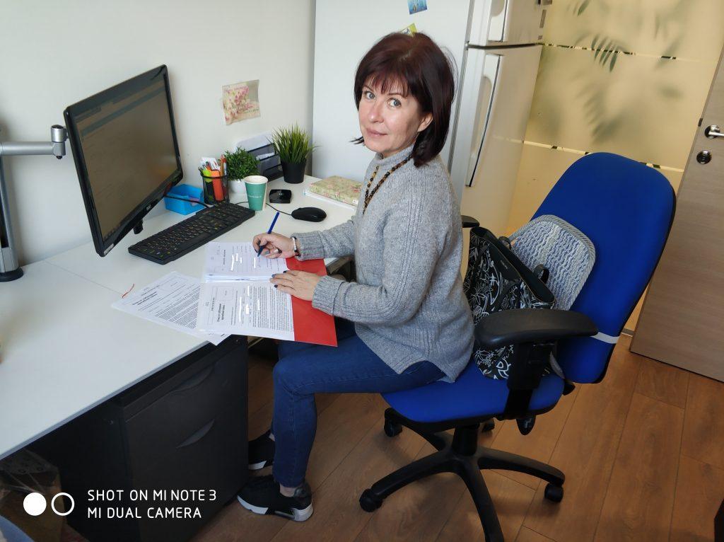 Оксана Лебедева сотрудник Alfa Medical Лечение в Израиле